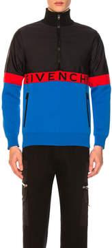 Givenchy Half-Zip Colorblock Jacket