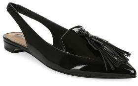 Tahari Paulina Slingback Patent Leather Flats