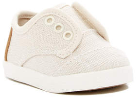 Toms Burlap Paseo Hook-and-Loop Sneaker (Baby, Toddler, & Little Kid)
