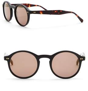 Cat Eye SUNDAY SOMEWHERE Alila 47mm Round Sunglasses