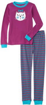 Petit Lem Girls' 2Pc Pajama Set