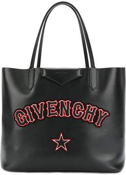 Givenchy Gothic patch tote bag