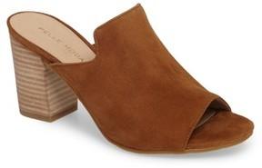 Pelle Moda Women's Blair Peep Toe Mule