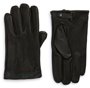 Ted Baker Men's Roots Leather Driving Gloves