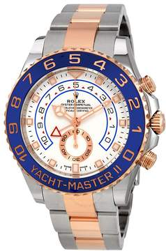 Rolex Yacht-Master II Chronograph Automatic White Dial Men's Steel and 18K Everose Gold Watch