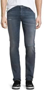 Hudson Men's Axl Rip & Repair Skinny Jeans, Battery