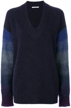 Agnona contrast sleeve sweater