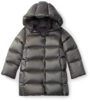 Ralph Lauren Quilted Hooded Down Coat Magnum Grey 2T
