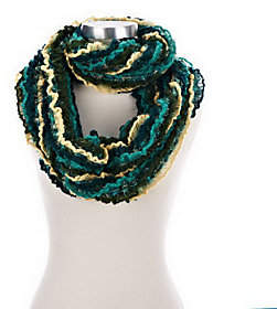 Collection XIIX Collection 18 Brushed Feather and RuffleInfinity Scarf