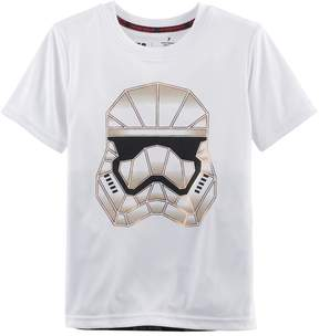 Disney Boys 4-7x Star Wars a Collection for Kohl's Stormtrooper Face Metallic Graphic Tee