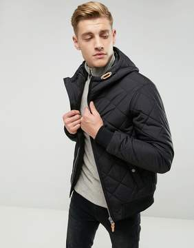 Esprit Quilted Jacket With Hood