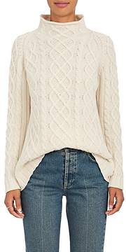 Barneys New York Women's Cashmere Fisherman Sweater