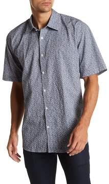 James Campbell Knell Short Sleeve Woven Shirt
