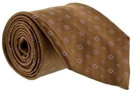 Gianfranco Ferre J037 U2f Brown Silk Mens Tie.