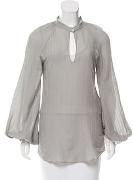 Vanessa Bruno Semi-Sheer Striped Tunic