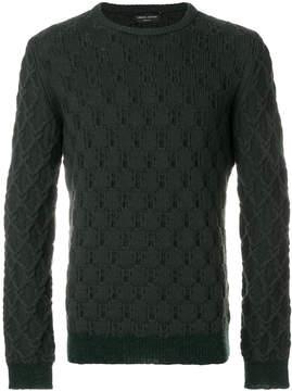 Roberto Collina waffle knit sweater