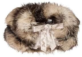 Salvatore Ferragamo Fox Fur Stole