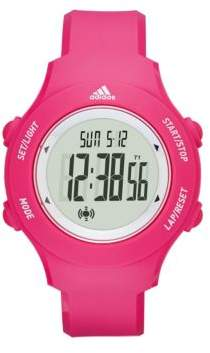 adidas Digital Polyurethane Strap Watch