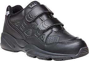 Propet Men's Leather Walking Sneakers - Stability Walker Strap