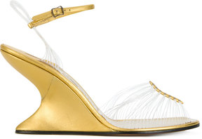 Salvatore Ferragamo Sandalo Invisible sandals