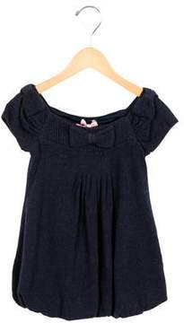 MonnaLisa Girls' Bow-Adorned Shift Dress w/ Tags