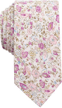 Bar III Men's Antique Floral Slim Tie, Created for Macy's