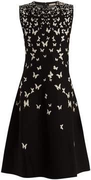 Bottega Veneta Butterfly intarsia-knit dress
