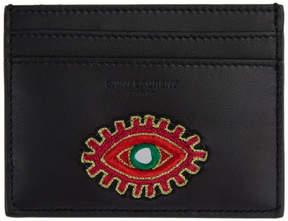 Saint Laurent Black Eye Patch Card Holder