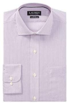 Lauren Ralph Lauren Slim-Fit Pinstripe Dress Shirt