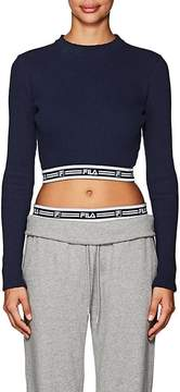 Fila Women's thedrop@barneys: Tracey Rib-Knit Crop Top
