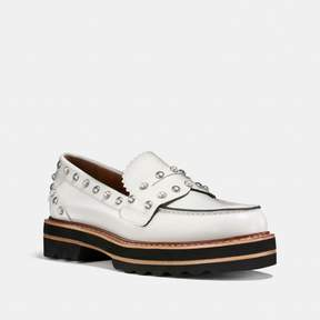 Coach New YorkCoach Lenox Loafer With Rivets