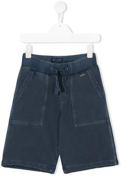 Woolrich Kids elasticated waist shorts
