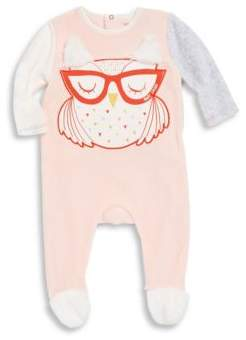 Little Marc Jacobs Baby Girl's Fancy Relief Illustration Bodysuit