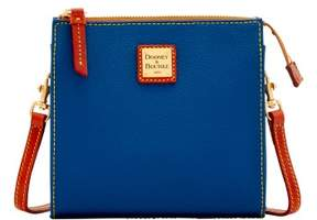Dooney & Bourke Eva North South Janine Crossbody Shoulder Bag - MIDNIGHT BLUE - STYLE