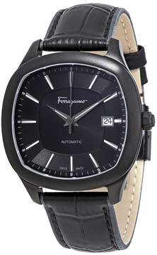 Salvatore Ferragamo Time Automatic Black Dial Men's Watch