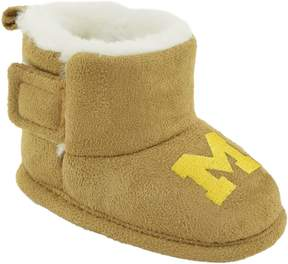 NCAA Baby Michigan Wolverines Booties