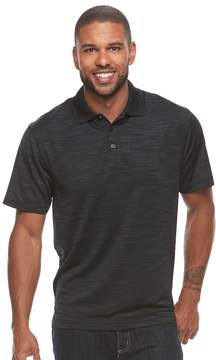 Haggar Men's Classic-Fit Space-Dye Easy-Care Polo