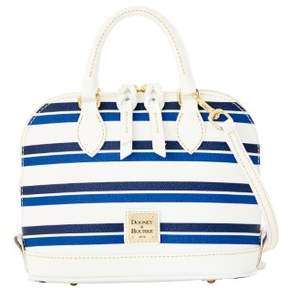Dooney & Bourke Stonington Bitsy Bag - BLUE NAVY WHITE - STYLE