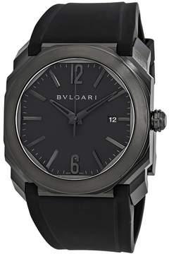 Bvlgari Octo Ultranero Black Lacquered Dial Automatic Men's Watch