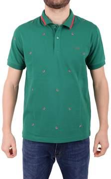 Sun 68 Cotton Blend Piqué Polo Shirt