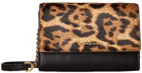MICHAEL Michael Kors Ruby Medium Clutch Clutch Handbags - BUTTERSCOTCH - STYLE