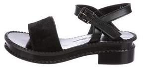 Robert Clergerie Clergerie Paris Caseype Leather Sandals