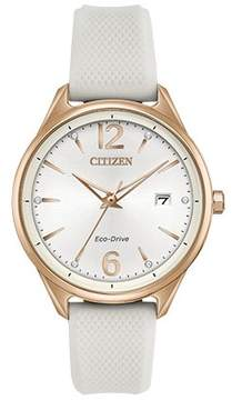 Citizen Chandler Silver Dial Ladies Watch FE6103-00A