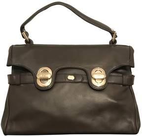 Lancel L'Angele Brown Leather Handbag