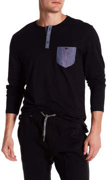 Report Collection Long Sleeve Henley Tee