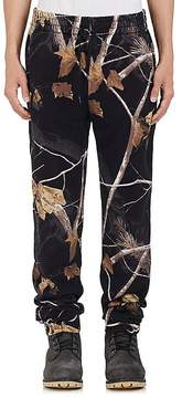 Alexander Wang Men's Winter Camo-Print Cotton Jogger Pants