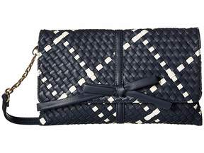 Deux Lux Barrow Bow Clutch Clutch Handbags