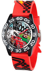 Disney Boys' Red Plastic Watch