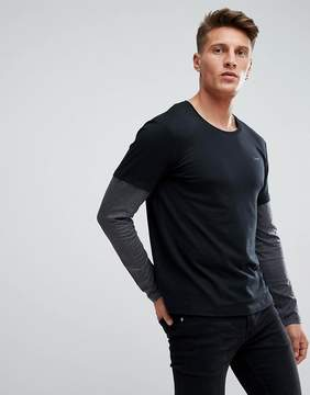 Esprit Long Sleeve T-Shirt With Double Sleeve