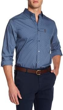 Ben Sherman Polka Dot Regular Fit Shirt